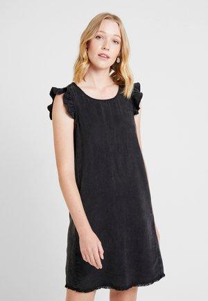 DRESS - Farkkumekko - black dark wash