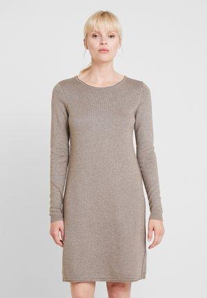 Jumper dress - taupe