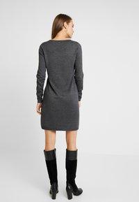 edc by Esprit - Strikket kjole - dark grey - 2