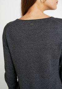 edc by Esprit - Strikket kjole - dark grey - 4