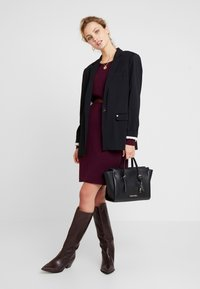 edc by Esprit - Robe pull - bordeaux red - 2