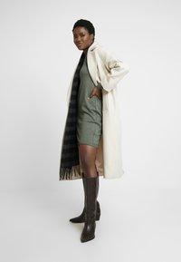 edc by Esprit - Strikket kjole - khaki green - 2