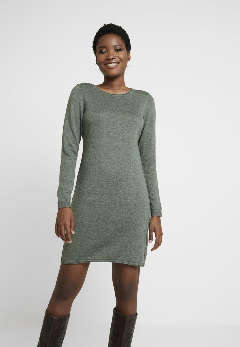 edc by Esprit - Strikket kjole - khaki green