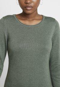 edc by Esprit - Strikket kjole - khaki green - 6