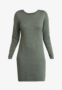edc by Esprit - Strikket kjole - khaki green - 5