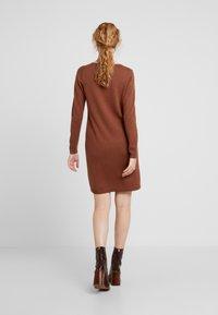edc by Esprit - Pletené šaty - rust brown - 3