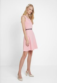 edc by Esprit - DRESS SOLID - Jerseykjole - pink - 1
