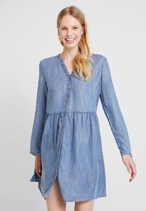 DRESS - Korte jurk - blue medium wash