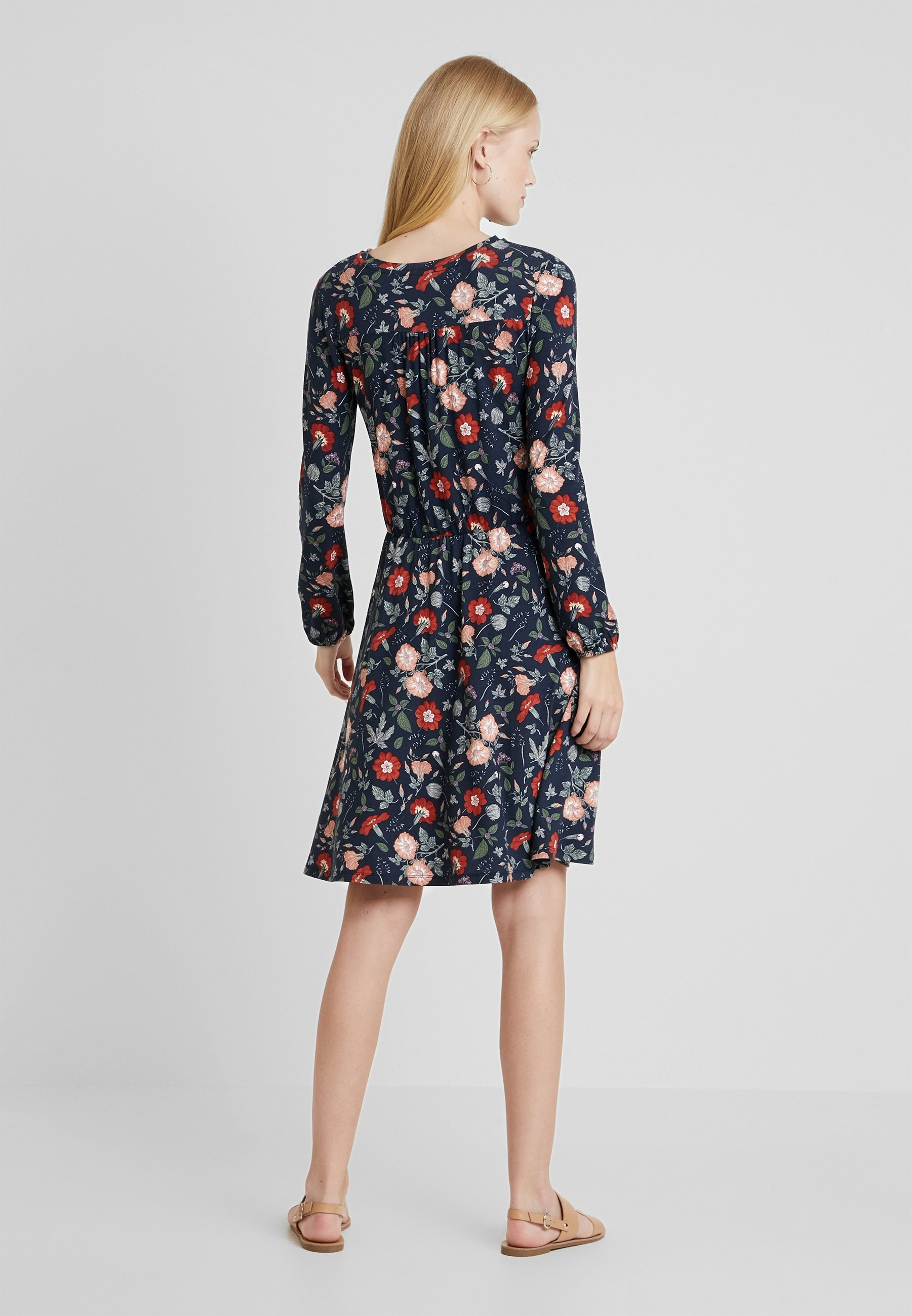 DressRobe Jean By Printed Esprit En Edc Navy OuZiPXTk