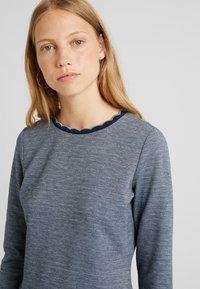 edc by Esprit - DOUBLEFACE DRES - Strikket kjole - navy - 4