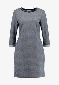edc by Esprit - DOUBLEFACE DRES - Strikket kjole - navy - 3
