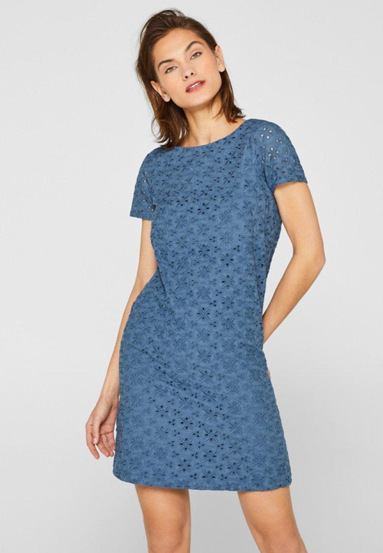 edc by Esprit - Korte jurk - blue-grey