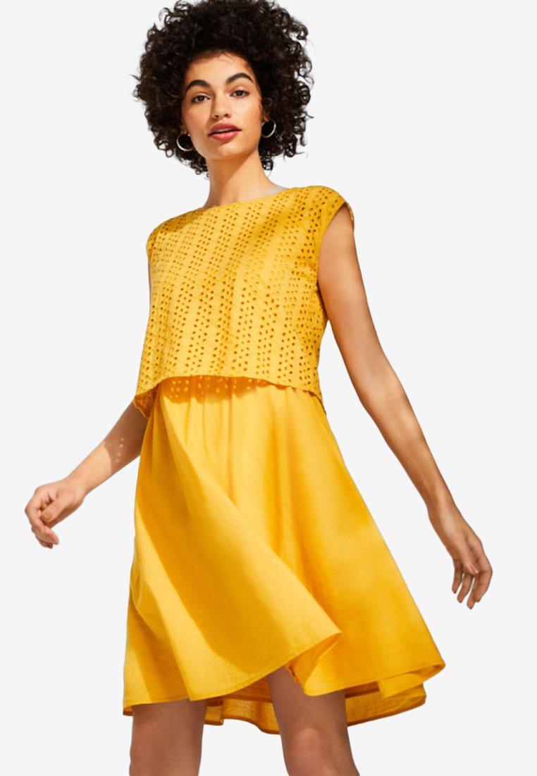 edc by Esprit - Freizeitkleid - yellow