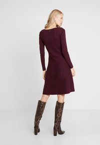 edc by Esprit - Robe pull - bordeaux red - 3