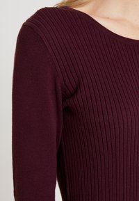 edc by Esprit - Robe pull - bordeaux red - 6