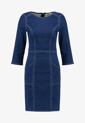 DRESS - Dongerikjole - blue dark wash