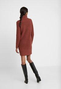 edc by Esprit - STRUCTURED - Jumper dress - terracotta - 3