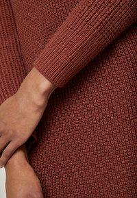 edc by Esprit - STRUCTURED - Jumper dress - terracotta - 6