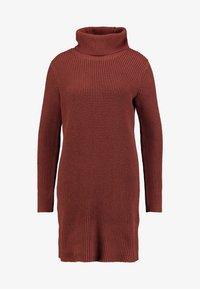edc by Esprit - STRUCTURED - Jumper dress - terracotta - 5