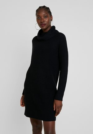 STRUCTURED - Strikkjoler - black