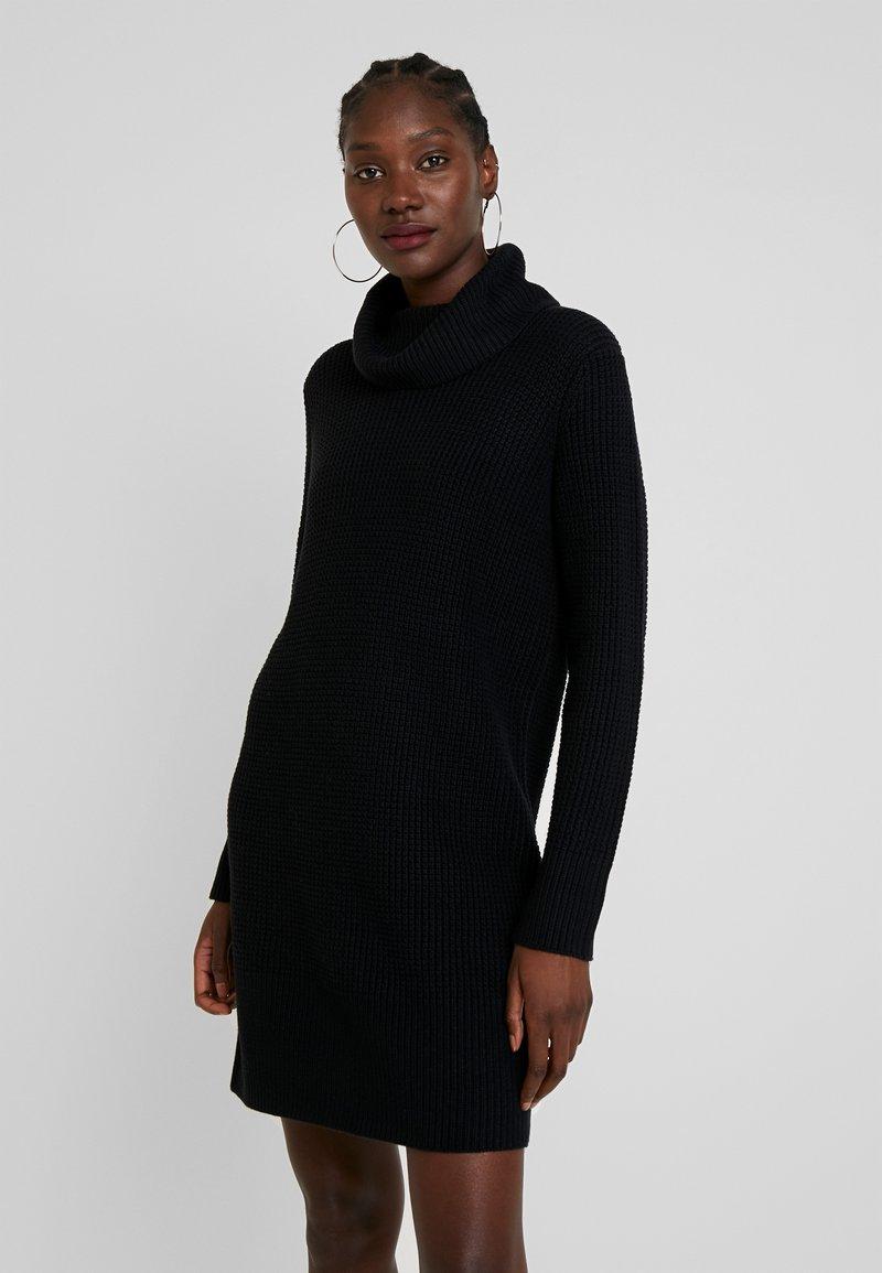 edc by Esprit - STRUCTURED - Strikket kjole - black