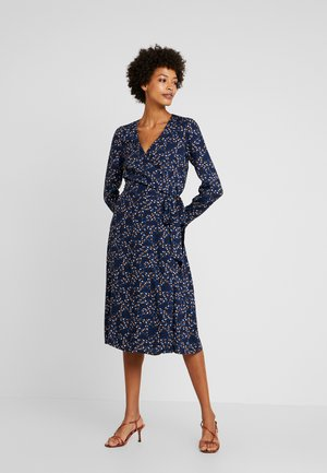 WRAP DRESS - Robe d'été - navy