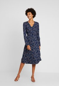 edc by Esprit - WRAP DRESS - Kjole - navy - 2