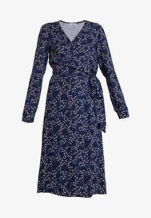 WRAP DRESS - Denní šaty - navy