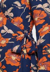 edc by Esprit - WRAP DRESS - Robe d'été - navy - 6