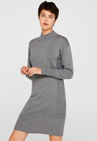 edc by Esprit - FASHION - Shift dress - gunmetal - 0