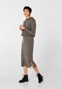 edc by Esprit - Gebreide jurk - dark grey - 1
