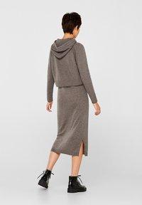 edc by Esprit - Gebreide jurk - dark grey - 3