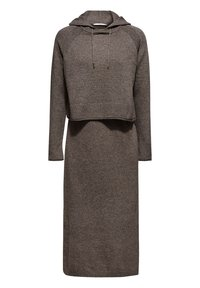 edc by Esprit - Gebreide jurk - dark grey - 0