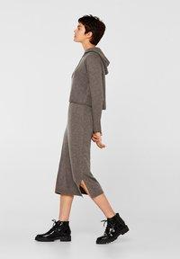 edc by Esprit - Gebreide jurk - dark grey - 4
