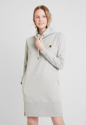 HIGH COLLAR - Vestido informal - light grey 5