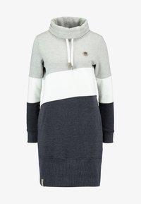edc by Esprit - COLORBLCK DRESS - Vestido informal - light grey - 5