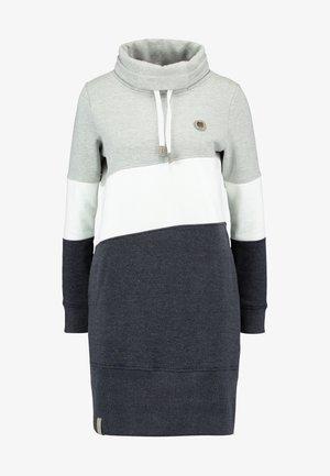 COLORBLCK DRESS - Vapaa-ajan mekko - light grey