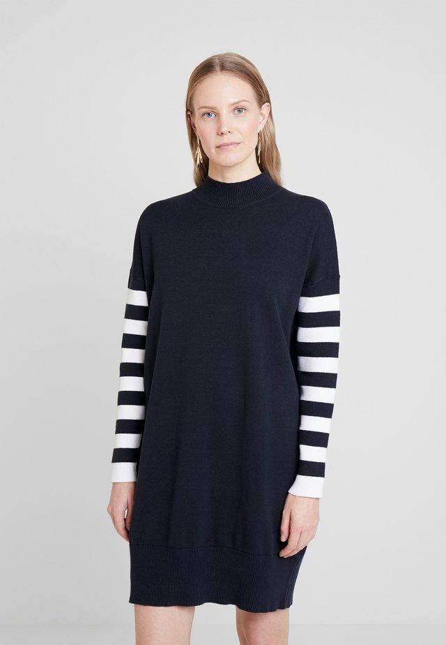 Vestido de punto - navy
