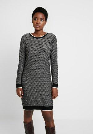 STRUCTURE - Strikket kjole - black