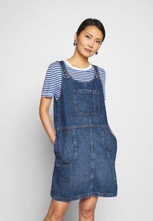 Vestito di jeans - blue medium wash