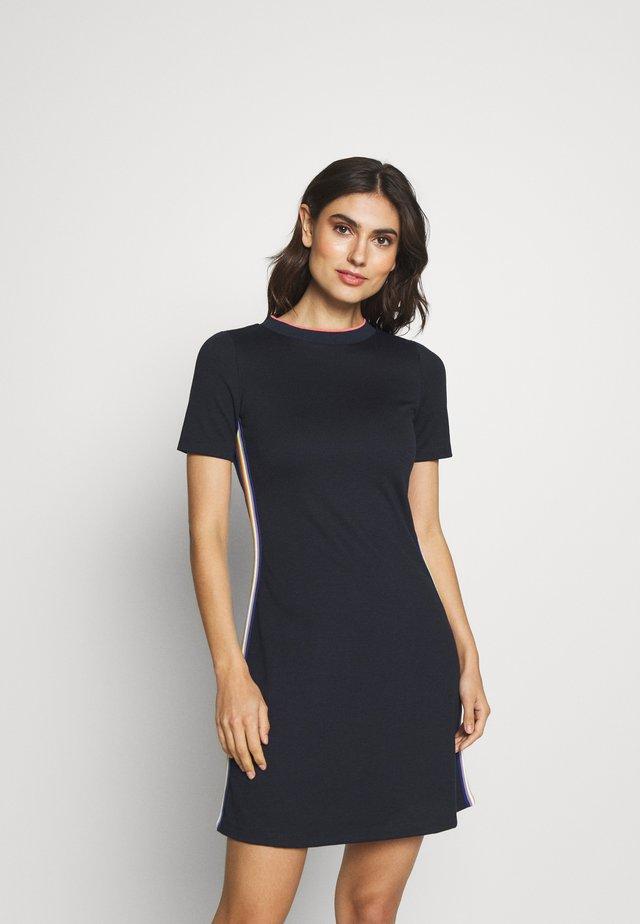 RAINBOW DRESS - Vestido ligero - navy