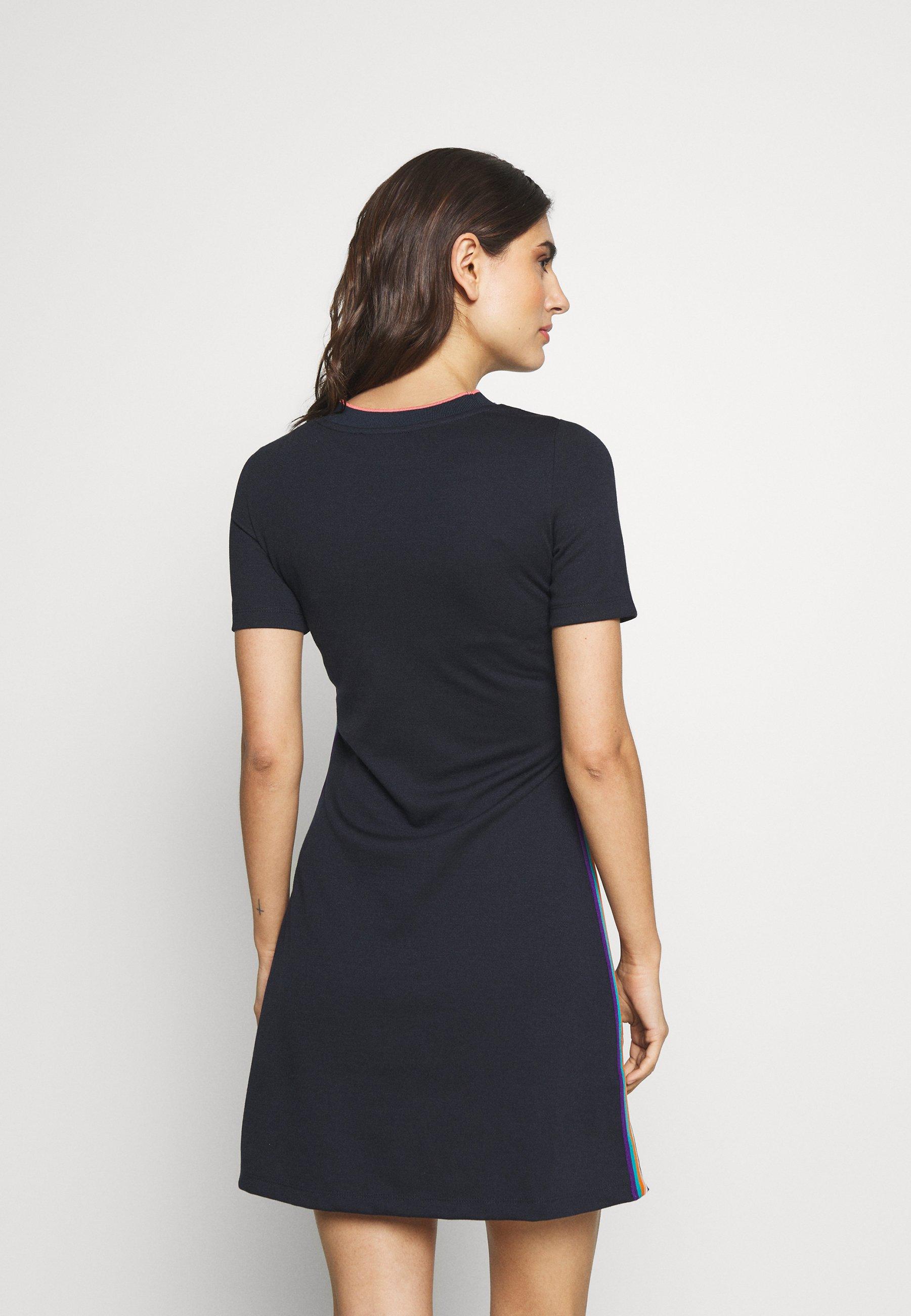 edc by Esprit RAINBOW DRESS - Sukienka z dżerseju - navy