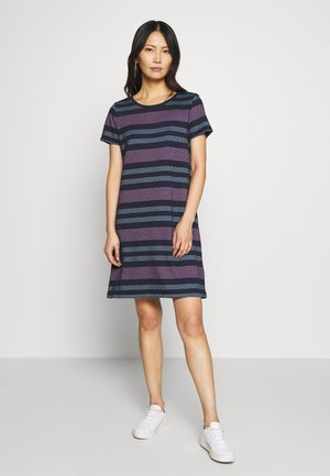 RAINBOW DRESS - Strikkjoler - navy