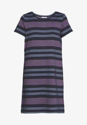 RAINBOW DRESS - Pletené šaty - navy