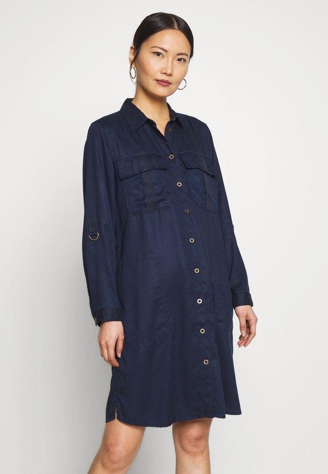 TWILL - Shirt dress - navy