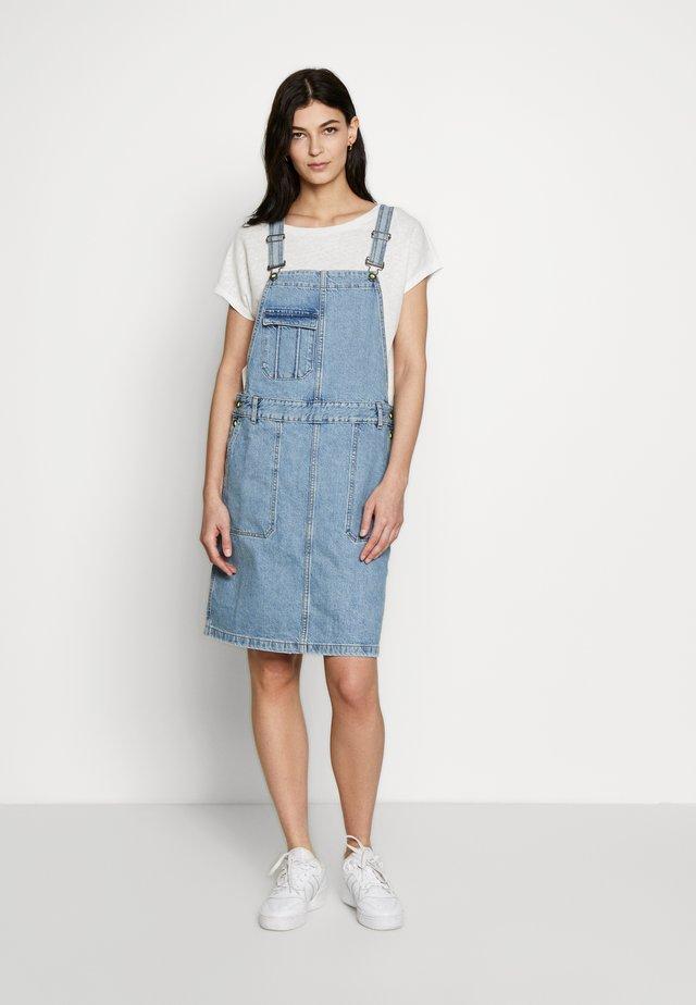 DRESS - Jeanskleid - blue medium wash