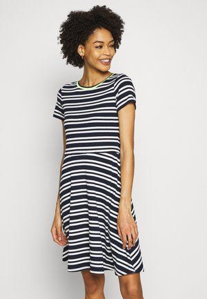 STRIPE - Jumper dress - navy