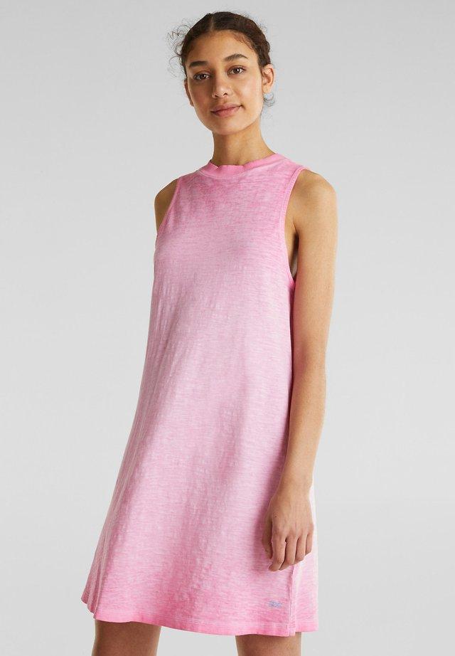 Jerseykleid - pink fuchsia