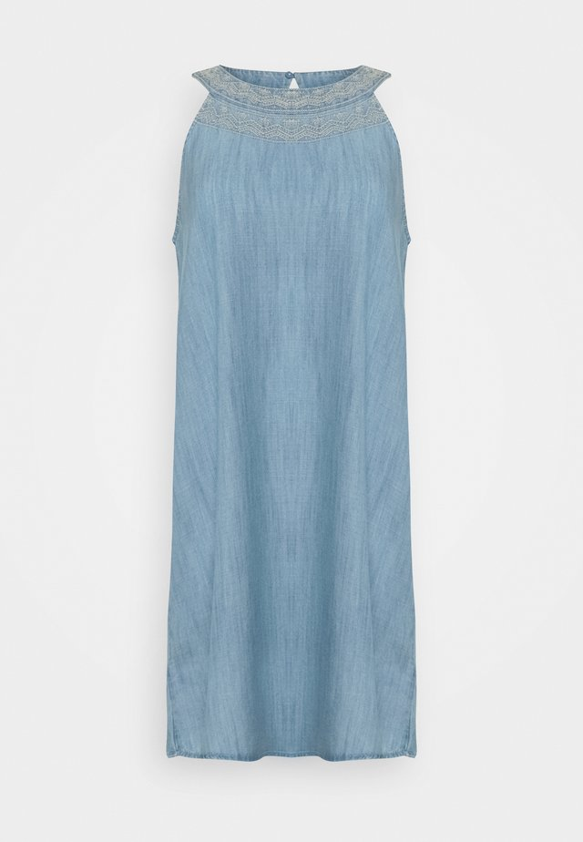 MIDI DRESS - Jeanskleid - blue light wash
