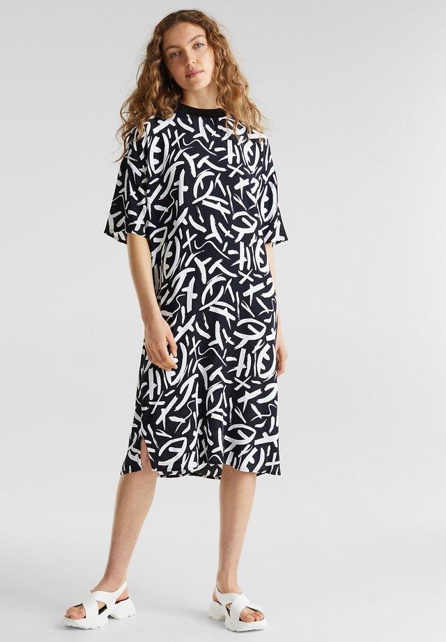 FASHION DRESS - Korte jurk - black